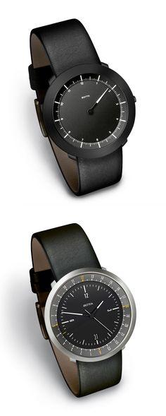 Bauhaus Style Watch Botta #watches #minimal #bauhaus