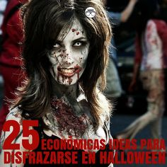 Zombie Makeup Ideas for the Living Dead Look | Dead makeup, Zombie ...