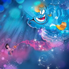 Aladdin and the Genie First Disney Princess, Disney Princess Jasmine, Disney Princess Pictures, Aladdin And Jasmine, Disney Pictures, Princess Aurora, Heros Disney, Disney Pop, Disney Magic