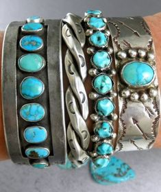 Filled with Arrows Beautiful Old Fred Harvey Navajo Early 30's Cuff Bracelet