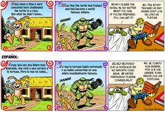 Once upon a time...  Érase una vez...  http://www.gocomics.com/onion-and-pea/2015/11/16