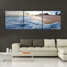 Ashore In Hawaii Wall Art - looks awesome against the gray wall.... Hummm if I can get a great pic like this while we are there it would look great in out bedroom!!!!