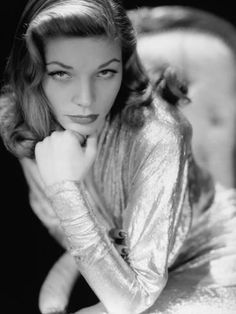 Photographic Print: Poster of Lauren Bacall, 1945. 1945 : 24x18in