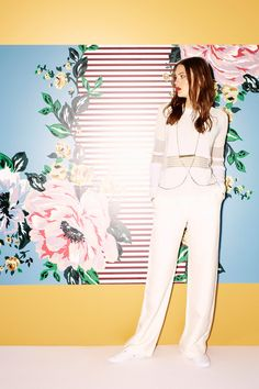 Preppy, WASPish sensibilities mashed up with Moroccan detailing and the brand's signature sumptuous, more-is-more shapes—that was Sass & Bide's premise for Resort 2015.