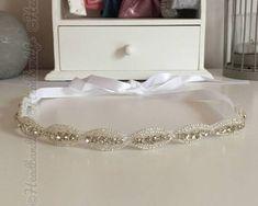 Headband mariage simple à nouer