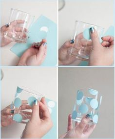 Creative DIY Party Glasses