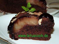 Schoko-Birnen Torte  -  შოკოლადიანი ტორტი მსხლით