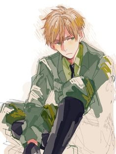 "venezianoaph: APH England "" の ぐ "" he's so grumpy...it's too cute :3"