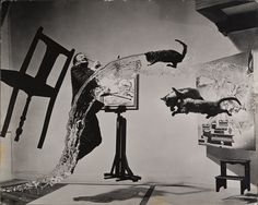 Dali Atomicus, 1948 © Philippe Halsman Archives