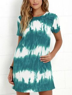 The airy Seawall Ivory and Teal Print Shift Dress is as naturally gorgeous as waves crashing in the bay! Lightweight rayon fabric in a cute shift silhouette. Cute Dresses, Casual Dresses, Short Sleeve Dresses, Short Sleeves, Midi Dresses, Prom Dresses, Summer Dresses, Long Sleeve, Casual T Shirt Dress