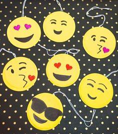 DIY Emoji Gift Tags
