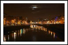 Dublin at Night - Dublin, Ireland