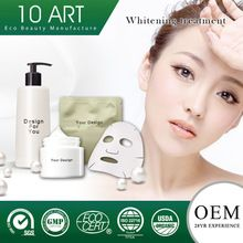 Private label 72 hr human patch tested and skin whitening face cream black skin whitening cream