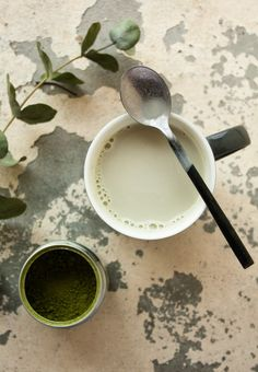 Matcha Latte vanille noix de coco | My French Bakery