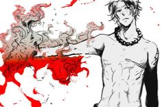..Portgas D. Ace from One Piece