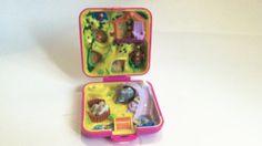 1989 Polly Pocket Wild Zoo World - Vintage Childrens Toy By Mattel