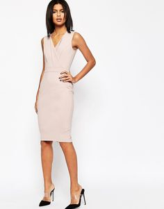 ASOS+Pencil+Dress+with+Panel+Detail