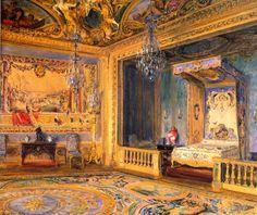 The King's Bedroom, Vaux-le-Vicomte / Walter Gay