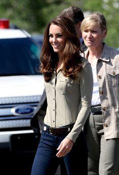 Kate Middleton - Prince William and Kate Middleton on a Sea Plane