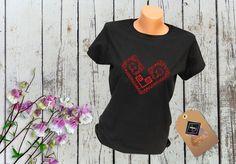 Tricou personalizat – 2 INIMI T Shirt, Tops, Women, Art, Fashion, Supreme T Shirt, Art Background, Moda, Tee Shirt