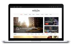 Papillon - Creative WordPress Blog Theme | #wordpressblog #wordpressblogtheme | Live Preview and Download: http://themeforest.net/item/papillon-creative-wordpress-blog-theme/10301816?ref=ksioks