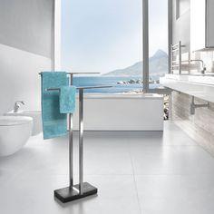 Der neue Star im Bad: Design-Handtuchhalter von blomus