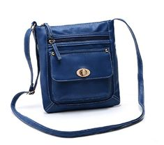 Womens Leather Cross body Shoulder Bag Organizer Purse with Turn-lock #bag http://www.allbodybag.com/womens-leather-cross-body-shoulder-bag-organizer-purse-with-turn-lock/  Womens Leather Cross body Shoulder Bag Organizer Purse with Turn-lock This soft leather shoulder bag messenger bags for women is the perfect size for Church on Sundays or week casual, it is cool and practical thanks to the simple design and feminine silhouette. It has various colors for choices, black, blue, red, ..