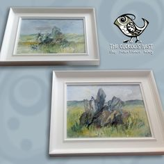 These beautiful paintings of the Rollright Stones are by Mandy Selhurst. We framed a set of three in these hand painted white frames for Mandy and they are now hanging in the SOTA gallery in Witney. I'd imagine they'll sell very quickly so head over to SOTA and take a look at them before they're snapped up.  You can find out more about Mandy's work at http://www.mandyselhurst.com  …and more about the SOTA Gallery here http://www.sotagallery.co.uk