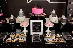 MAC inspired makeup party by Perfectly Sweet Lollie Buffet