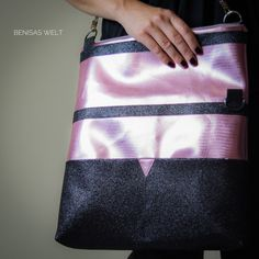 Wandelbare Tasche mit Raffinessen   BenisaS – Welt Totes, Bag Tutorials, Designer Bags, Handbags, World, Projects