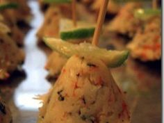 Petites bouchées au surimi pour l' apéritif