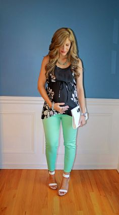 65 Cute Work Outfit Ideas For Pregnant Women - my special fashion - - Schwanger - Spring Maternity, Cute Maternity Outfits, Stylish Maternity, Maternity Wear, Maternity Fashion, Maternity Clothing, Maternity Pants, Maternity Style, Maternity Tops