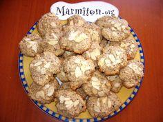 Recette Cookies aux noisettes et aux amandes