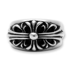 Real Chrome Hearts Grand Cross Ring Silver On Sale Width 14mm, back 8mm * Silver:925 http://www.chromeheartsonlineoutlet.com/