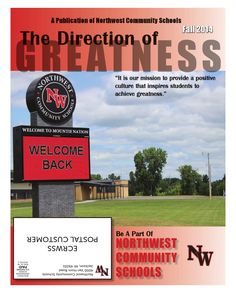 Northwest Community Schools Fall 2014 Newsletter