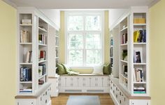 7 Surprising Built-In Bookcase Designs - This Old House