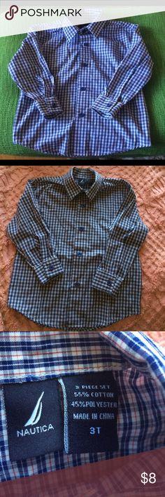 Nautica Shirt EUC, perfect for formal occasions. Stylin' kid! Nautica Shirts & Tops Button Down Shirts