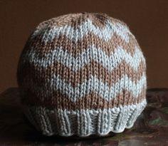 NEW  Infant Chevron Baby Hat Photo Prop Beanie by sassafrass2, $24.00
