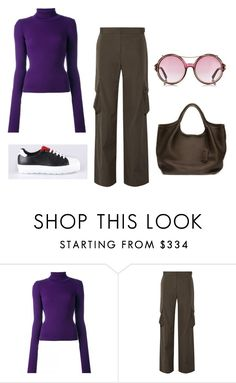 """untitled"" by fab2fab ❤ liked on Polyvore featuring Jacquemus and Helmut Lang"