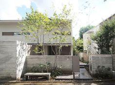 成城の庭 2012 東京都 建築設計:遊空間設計室 copyright © Toshiya Ogino Landscape Design Landscape Architecture, Landscape Design, Urban Renewal, Muji, Facade, Entrance, Exterior, Patio, Nihon