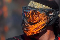 Paintball is a safe, simple yet challenging and strategic sport that is played usually by two teams, each with at least two players. Paintball Field, Paintball Mask, Paintball Guns, Airsoft Guns, Action Wallpaper, Architecture Art Design, Quick Draw, Extreme Sports, Bowling Ball