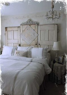 Searching For DIY Headboard Ideas? There are a lot of cost-effective methods to develop a special one-of-a-kind headboard. We share a couple of fantastic DIY headboard ideas, to influence you to design your room chic or rustic, whichever you like. Recycled Furniture, Vintage Furniture, Diy Furniture, Modern Furniture, Bedroom Furniture, Furniture Removal, Wicker Furniture, Furniture Companies, Furniture Stores