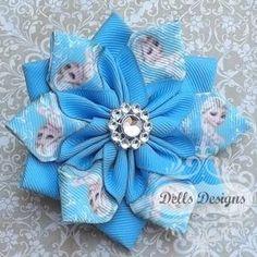 Elsa Frozen Snowflake Flower