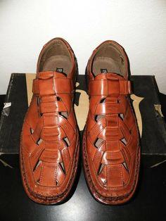 102c43fa0 Stacy Adams Men s Biscayne Cognac Sandals size 13 M