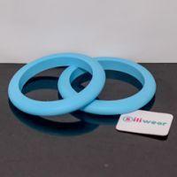 Light blue sili-mini bangle #mamadoo #teethingjewellery #bangles