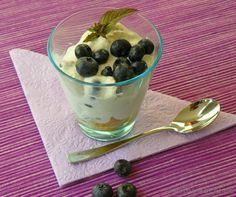 Heidelbeer Mascarpone Trifle im Glas - katha-kocht!