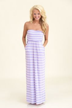 Always and Forever Maxi Dress-Lavender