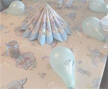 DIY - lag ting selv til bursdagen. Ballong som bordkort