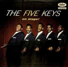 """""""The Five Keys On Stage! (1957, Capitol)."""