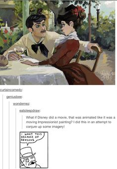 A Disney painted movie!